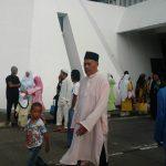 Solat Sunat Aidiladha 1433H di Masjid Jamek An Nur Labuan
