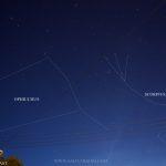 Sky observation 21 January 2013