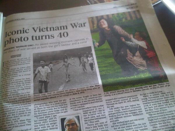 Iconic Vietnam War photo turns 40