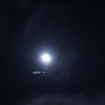 Jupiter closer to Moon