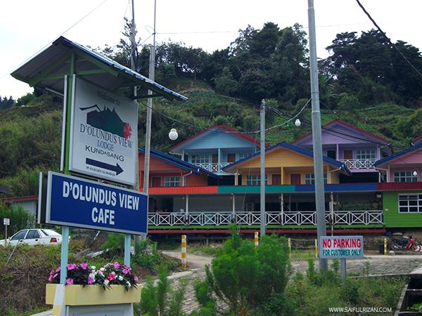 D'Olundus View Lodge, Kundasang, Sabah.