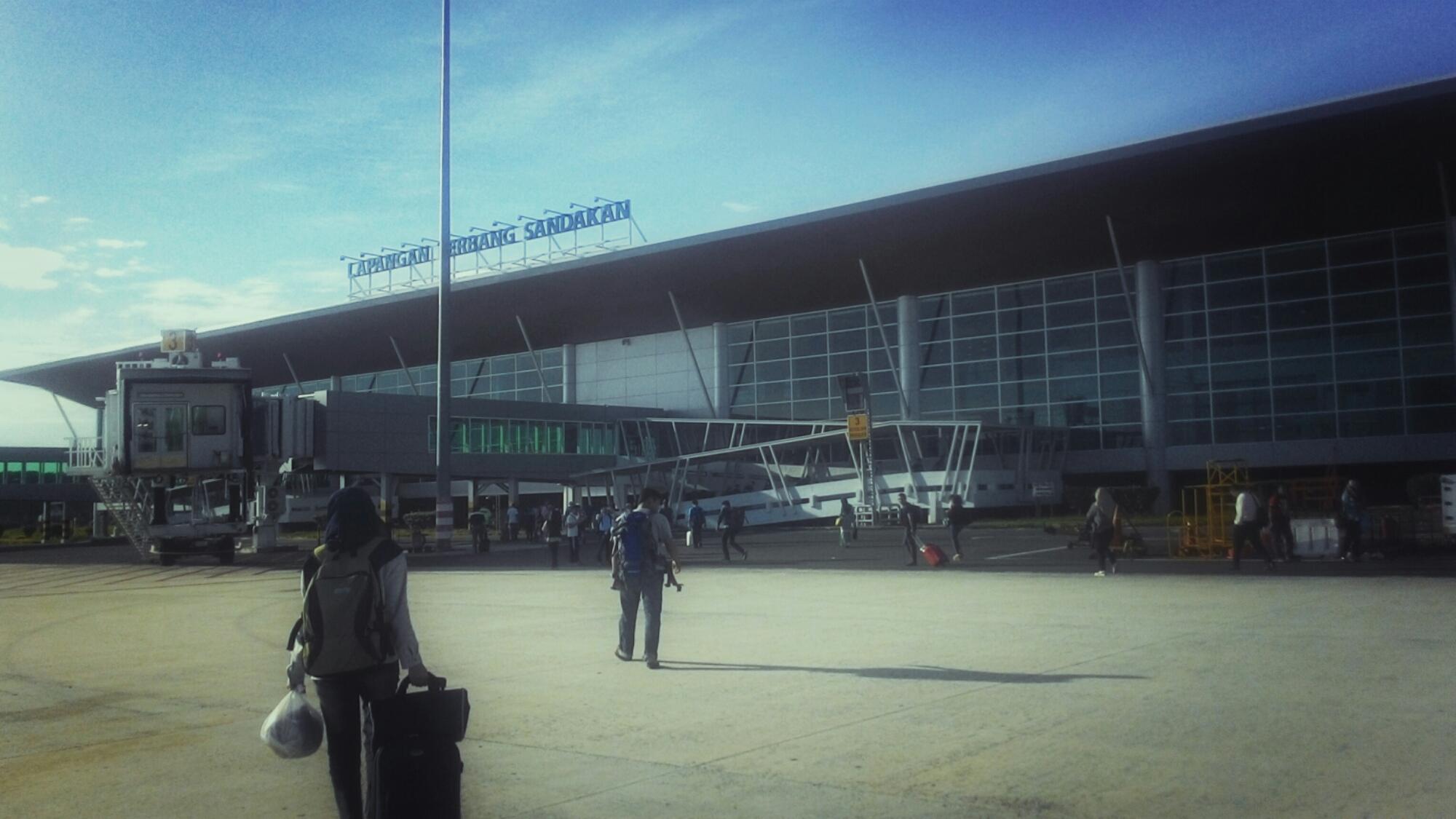 Flight to Sandakan